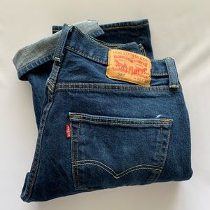 Vintage Levi's 501 button fly high waist mom jeans